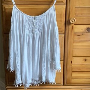American Rag off the shoulder top with straps